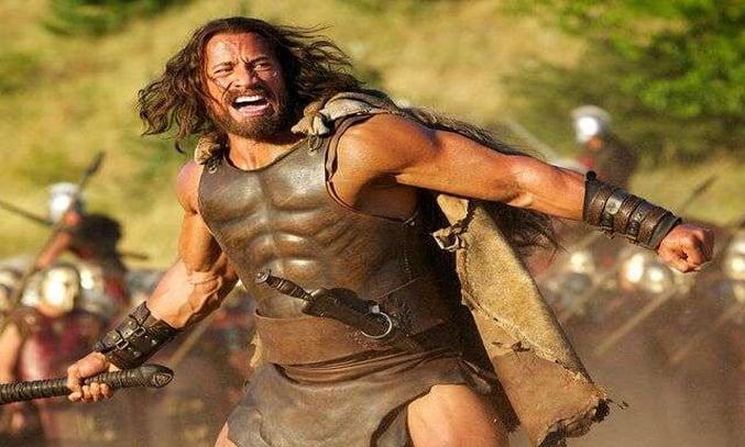Dwyane Johnson as Hercules.