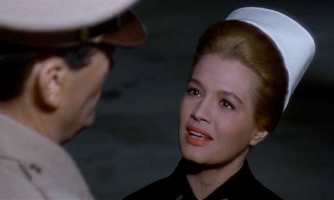 Angie Dickinson in Captain Newman, MD
