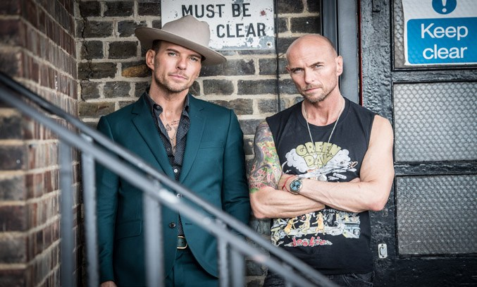 Matt and Luke Goss in AFTER THE SCREAMING STOPS