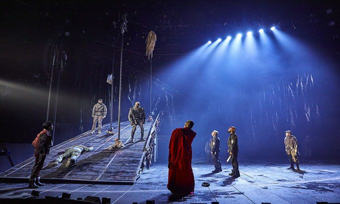 MACBETH at National Theatre, London. Photo: Brinkhoff and Moegenburg