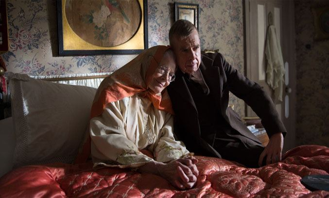 Vanessa Redgrave and Timothy Spall in Mrs Lowry & Son (2019)