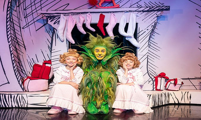 2019 Cast of Dr Seuss How The Grinch Stole Christmas the Musical