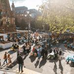 Festival Square at Manchester International Festival.