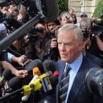 Max Mosley at press conference