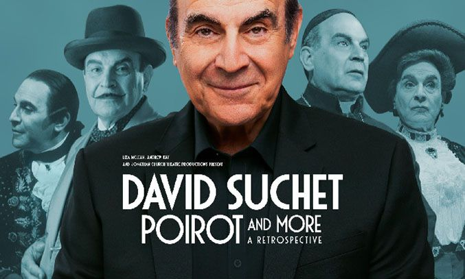 Production photo for David Suchet Poirot and More