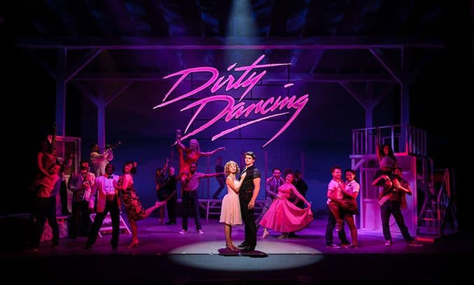 The cast of DIRTY DANCING: THE CLASSIC STORY ON STAGE.