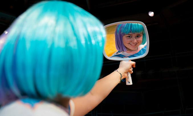 Liv Hill as Lola in GLEE & ME at Royal Exchange Theatre