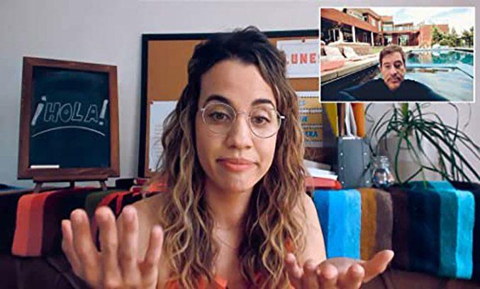 Natalie Morales in Language Lessons (2021)